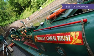 Dudley Canal Trust (Trips) Ltd: Historic Canal Tour and Cream Tea with Dudley Canal Trust (Up to 31% Off)