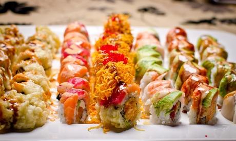 20, 30 o 40 piezas de sushi y 1 o 2 entrantes con 1 botella de vino o 2 bebidas para llevar desde 19,90 € en Yokomo