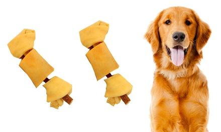 2-Pack of Bully Stick Combo Bones