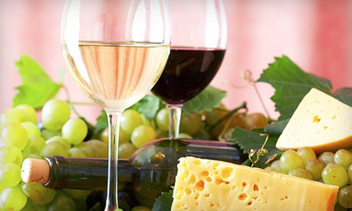 The Blue Goose - St. Marys: Wine Tasting or Wine Tasting with Chocolate and Cheese for Two or Four at The Blue Goose in St. Marys (Up to 62% Off)