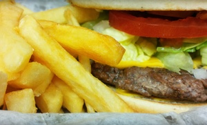 Felix Burgers & More: Burgers, BBQ, and Mexican Food at Felix Burgers & More (Up to 50% Off). Two Options Available.