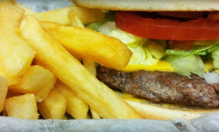 Burgers, BBQ, and Mexican Food at Felix Burgers & More (Up to 50% Off). Two Options Available.