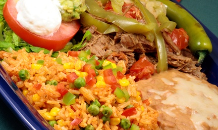 $14 for Mexican Meal for Two at Lucky Star Cafe Mexican Grill (Up to $22.18 Value)
