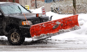 GreatScapes Landscaping: Two Visits for Snow Removal at GreatScapes Landscaping & Snow (44% Off)
