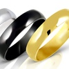 Stainless Steel Wedding Bands for Men and Women