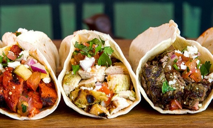 Brushfire Tacos y Tapas - Thunderbird Crossing: $15 for three Groupons, Each Good for $8 Worth of Tacos and Tapas at Brushfire Tacos y Tapas ($24 Total Value)