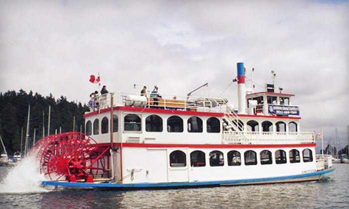 Harbour Cruises & Events - Vancouver: Vancouver Harbour Tour for Two or Four Adults from Harbour Cruises & Events (Up to 54% Off)