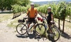 Napa Valley Adventure Tours - Cental Napa: $47 for a Self-Guided Napa Valley Tour by Electric Bike with a Cheese Plate from Napa Valley Adventure Tours ($95 Value)