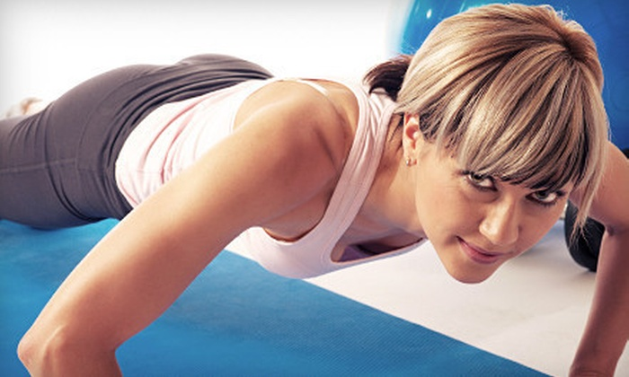 Omni Health & Fitness - Collierville: Two- or Three-Month Gym Membership with One Week of Boot Camp at Omni Health & Fitness (Up to 75% Off)