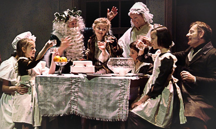 "Wild Swan Theater's ""A Christmas Carol"" for Two or Four at Towsley Auditorium (Up to 55% Off). Five Shows Available."