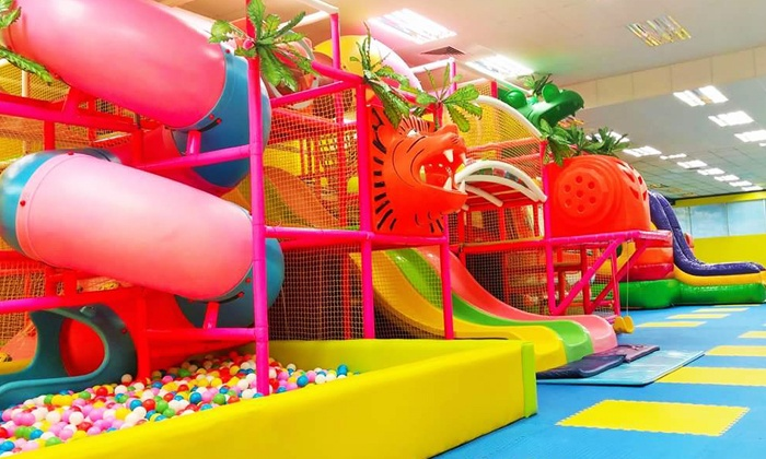 FunAthon llc - Lawrenceville: 5, 10, or 20 Kids' Open-Play Passes or Kids' Birthday Party for Six at FunAthon (Up to 50% Off)