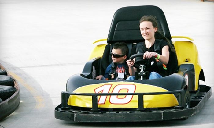 Summerland Family Fun Park - Lincoln School: 6 or 12 Go-Kart or Bumper-Boat Rides at Summerland Family Fun Park (Up to 52% Off)