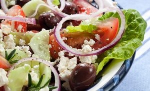 Papachino's: $7 for Mediterranean Food at Papachino's (a $14 Value)