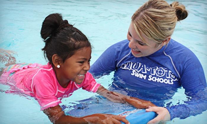 Aqua-Tots Swim Schools - Eagan: $29 for Four 30-Minute Weekly Kids' Group Swim Lessons at Aqua-Tots Swim Schools in Eagan ($74 Value)