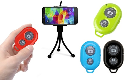 iPlanet Bluetooth Shutter Remote with Tripod