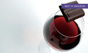 The Chocolate Therapist: Chocolate and Wine or Beer Pairing Class for Two or Gift Set at The Chocolate Therapist (Up to 48% Off)