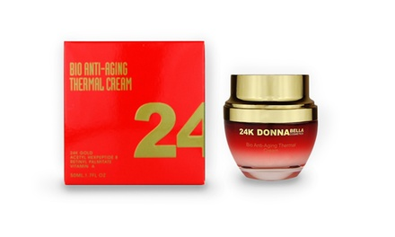 24K Donna Bella Bio Anti-Aging Thermal Cream; 1.7 Fl. Oz.