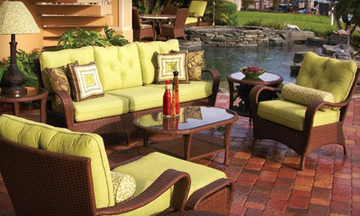 Leader's Casual Furniture - Multiple Locations: $99 for $300 Worth of Rattan, Wicker, and Patio Furniture from Leader's Casual Furniture