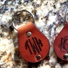 Up to 67% Off Monogrammed-Leather Key Chains