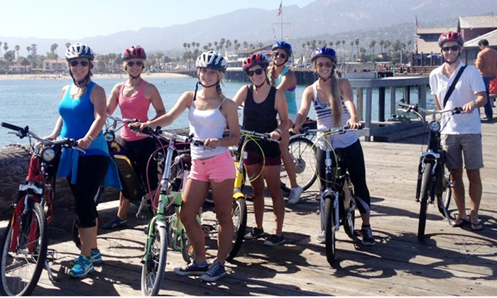 E-Bikes Santa Barbara - Oak Park: Electric-Bike Rentals for Two People from E-Bikes Santa Barbara (50% Off)