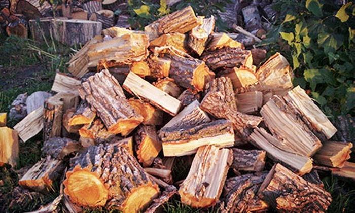 Four Seasons Firewood - Newton: Firewood or Smoking Wood from Four Seasons Firewood (Up to 53% Off). Two Options Available.