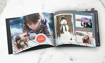 5x7, 8x8, 8x11, or 12x12 Custom Photo Book from Snapfish (Up to Half Off)