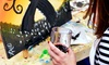 Up to 57% Off BYOB Painting Class at Tipsy Paint Studio