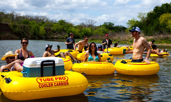 Bastrop River Company - Bastrop, TX: All-Day Tubing on the Colorado River for Two or Four from Bastrop River Company (Up to 50% Off)