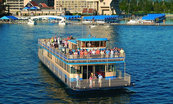 Lake Coeur d'Alene Cruises - Coeur d'Alene: Scenic Lake Cruise for Two Adults with Option for Two Children from Lake Coeur d'Alene Cruises (Up to 33% Off)