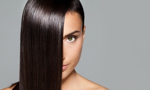 Le Rouge Hair Lounge: Haircut or Keratin Smoothing Treatment at Le Rouge Hair Lounge (Up to 76% Off). Three Options Available.