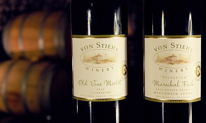 Von Stiehl Winery - Denmark: Wine Tasting for Two, Four, or Six, or One Ticket to BBQ Pairing on Nov. 8 at Von Stiehl Winery (Up to 54% Off)