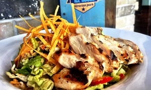 Addison Ice House: Burgers, Barbecue, and Tex-Mex Food at Dinner for Two at Addison Ice House (50% Off)