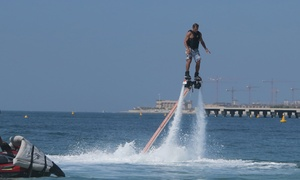 Hydro Water Sport L.L.C: Flyboarding Session with Hydro Water Sport  at JBR (Up to 57% Off)