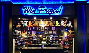 CJ Barrymore's: $25 for Arcade Fun Card at CJ Barrymore's ($50 Value)