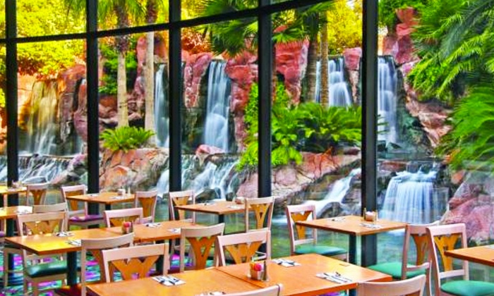 Flamingo Paradise Garden Buffet - The Strip: $40 for VIP All-You-Can-Eat Brunch or Dinner Buffet for Two at Paradise Garden Buffet ($63.98 Value)