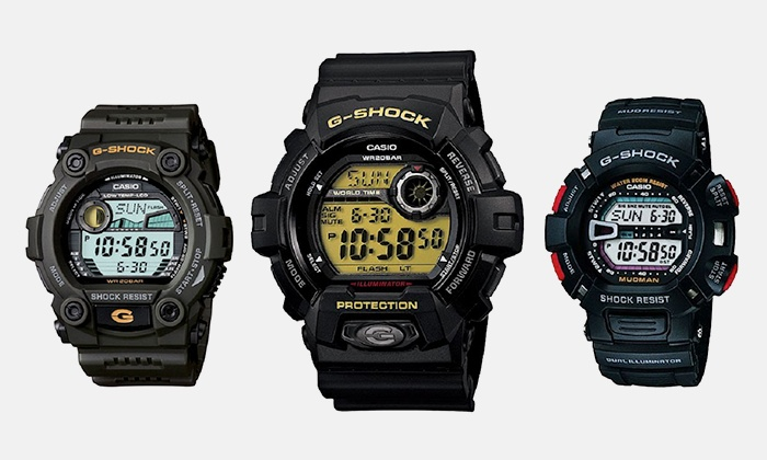 05b2c2554fb5 Casio G-Shock Watches