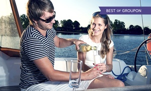 Escape Yachting: Six-Hour Sail With Champagne Plus Lunch or Dinner with Escape Yachting (55% Off)