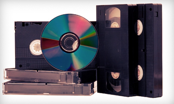 Action Video Service - Richardson: $12 for a Videotape to DVD Transfer at Action Video Service in Richardson (Up to $24.99 Value)