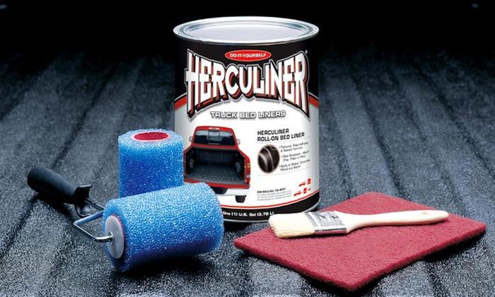 Herculiner Brush-On Truck Bed Liner Kit: Herculiner Brush-On Truck Bed Liner Kit. Free Returns.
