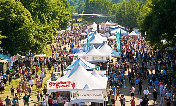 Bite of Oregon - Tom McCall Waterfront Park: $7.50 for Weekend Visit for One to the Bite of Oregon on August 9–11 ($15 Value)