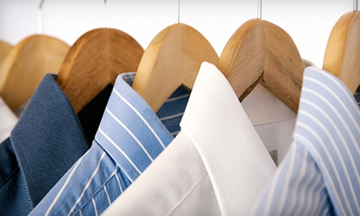 Max Precision Cleaners - Multiple Locations: Dry Cleaning or Wedding-Dress Preservation at Max Precision Cleaners (Half Off). Five Options Available.