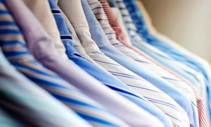 Warwick Dry Cleaners: Dry Cleaning at Warwick Dry Cleaners (Up to 51% Off). Three Options Available.