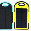 iPM 5,000mAh Waterproof Solar-Powered Flash Charger for Smartphones