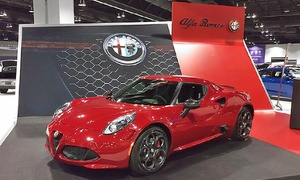 Denver Auto Show: Two Tickets or a VIP Private Tour for One with Continental Breakfast at the Denver Auto Show (Up to 50% Off)