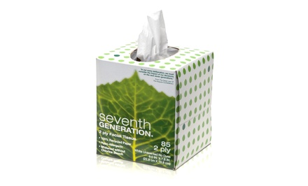 Seventh Generation Facial Tissues; 36-Pack of 85-Tissue Cubes + 5% Back in Groupon Bucks