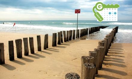 Zeeland/Niederlande: Aufenthalt für Zwei mit Frühstück im 4* Strandhotel Bos & Duin