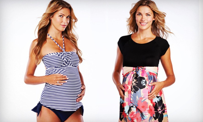 Pickles & Ice Cream Maternity Apparel - Great Uptown: $25 for $50 Worth of Designer Maternity Clothes and Accessories at Pickles & Ice Cream Maternity Apparel