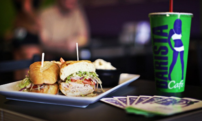 Barista Cafe - North Scottsdale: Healthful Café Food at Barista Cafe (Up to 53% Off). Two Options Available.