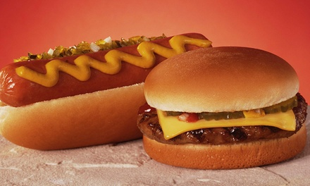 $13.95 for Three Groupons, Each Valid for $8 Worth of Hot Dogs and Comfort Foods at America's Dog & Grill ($24 Value)