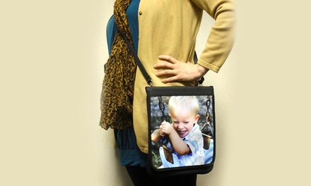 Personalized Crossbody Bag from Snaptotes